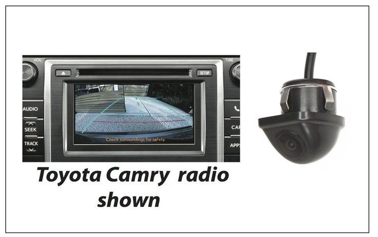 'PLUG and GO' Integrated Backup Camera System for Scion 2013-16 FRS FR-S 3YR WAR #plugandgo