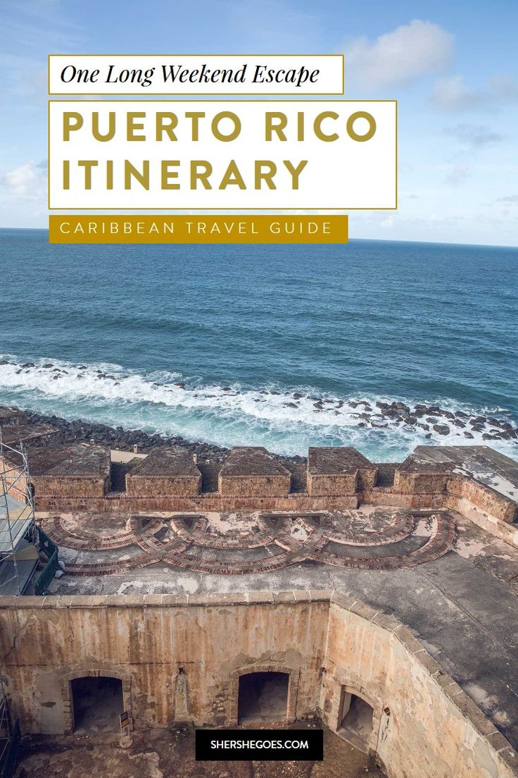 a 4 to 5 day itinerary for puerto rico, a tropical caribbean island and u.s. territory! a food guide to puerto rico san juan, puerto rico vacation, puerto rico wedding, san juan puerto rico things to do in, san juan puerto rico cruise, puerto rican food, puerto rican cuisine, san juan puerto rico excursions #sanjuan #puertorico