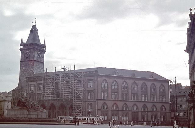 cca 1942 Praha Staroměstské náměstí 1
