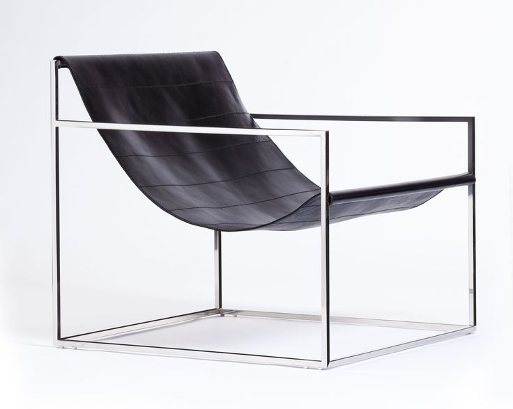 egg designs furniture. Egg Designs Sling Chair, Polished Stainless Steel \u0026 Leather Furniture