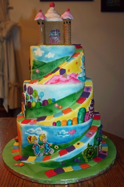 Girly Cake Images : 1000+ images about Girly Cakes on Pinterest Sweet cakes ...