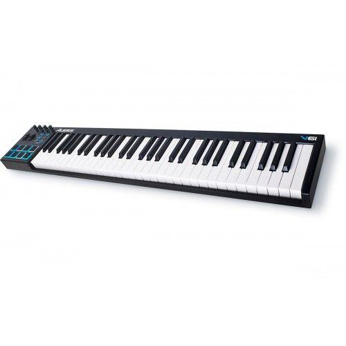 Il Alesis V61 è una tastieracontroller MIDI potente, intuitiva che permette di prendere il comando del software musicale con una serie di pads, manopole e pulsanti. Con 61 tasti sensibili alla velocità e pulsanti di trasposizione di ottava su / giù, è possibile espandere la tastiera alla gamma melodica richiestae riprodurre linee di basso, accordi e melodie senza difficoltà. V61 dispone anche di quattro manopole assegnabili e pulsanti per manipolare i plugin di effetti e ...