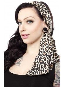 Bad Girl Scarf Leopard