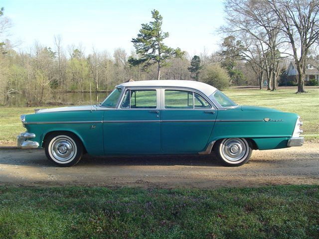 1955 dodge lancer custom royal 4 door sedan 55 dodge for 1955 dodge coronet 4 door