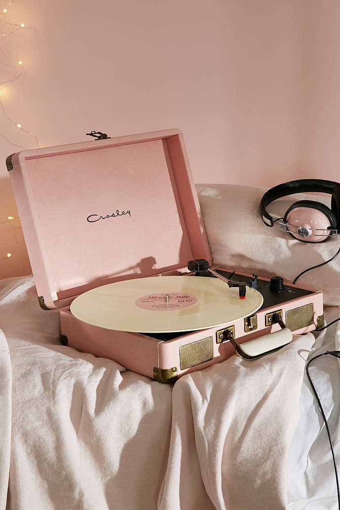 Crosley - Tourne-disque Cruiser rose - Urban Outfitters