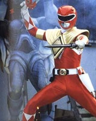MMPR - Red Ranger With Power Shield