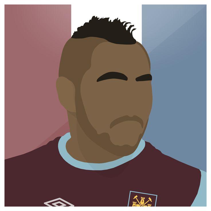 Payet   #WestHam #WHUFC #Hammers #Dimitri #Payet #France #England #Premiership #Football #LesBleus #Vector #Sport #Futbol #Design #Graphic #Art #Illustrator #Photoshop
