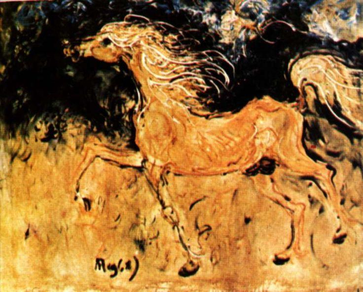Wild Horses by Affandi