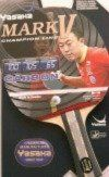 Man Cave- Yasaka MARK V Carbon Racket, Flared Handle (Champion Line) for Table Tennis -- Details can be found by clicking on the image.