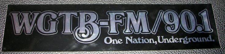 Georgetown University Student Radio Station WGTB-FM 90.1