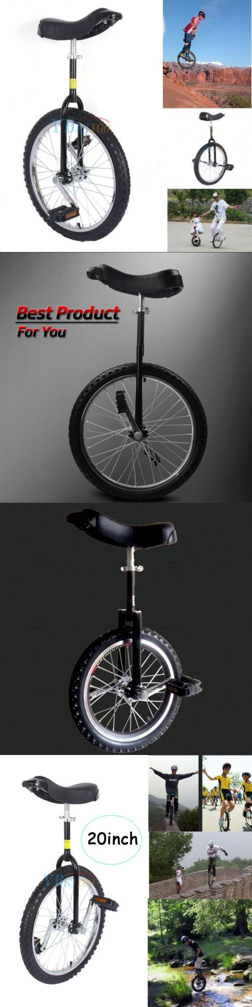 Other Cycling 2904: New Black 20 Inch Unicycle Uni Cycle Scooter Circus Pro Bike Youth Adult -> BUY IT NOW ONLY: $46.99 on eBay!