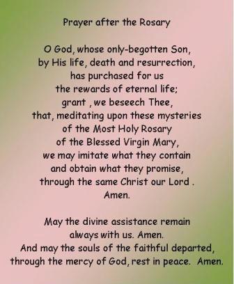 rosary prayer | rosary prayer, how to pray the rosary