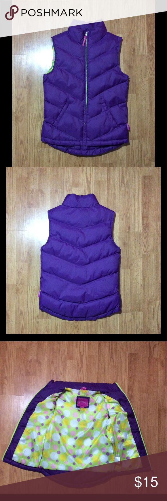 Juniors purple vest size M Purple vest for juniors from weatherproof. Size M.  New without tags but in great condition!!  I normally ship the same day or the day after!! waterproof Jackets & Coats Vests