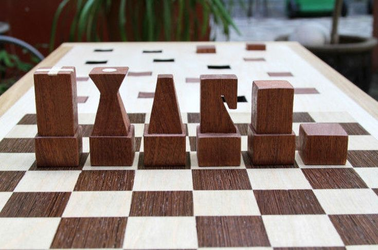 Square chess pieces google pinterest chess pieces search and squares - Simple chess set ...