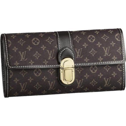 Louis Vuitton Monogram Idylle Sarah Wallet M63006 Aub-$176