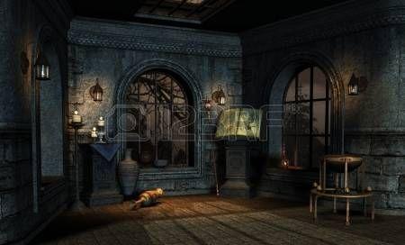 номер в средневековом стиле фэнтези