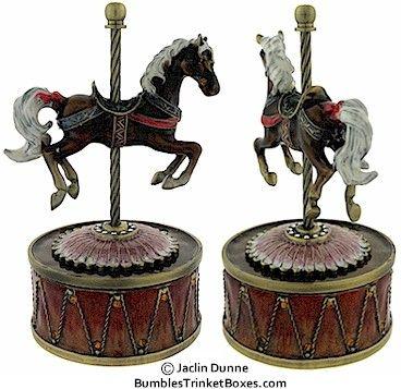 Brown Carousel Horse