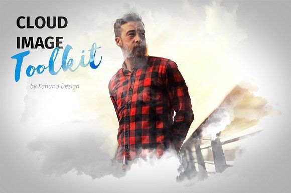 Cloud Image Toolkit by Kahuna Design on @creativemarket
