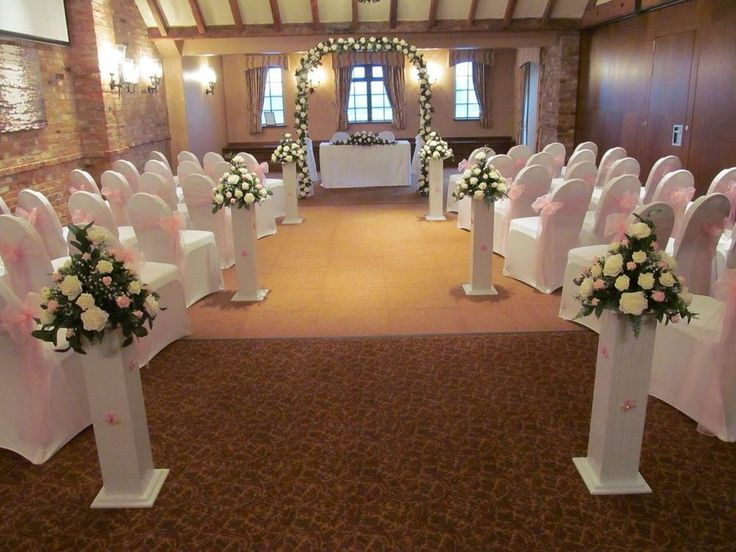 White Columns Pillars Flower Display Pedestal Wedding Stand HIRE ONLY