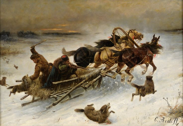 "Constantin Stoiloff. "" Sanie ;i cai atacati de lupi """