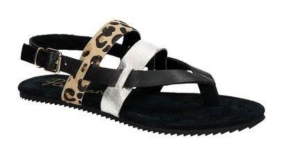 Poelman platte sandalen - damesschoenen #zomer