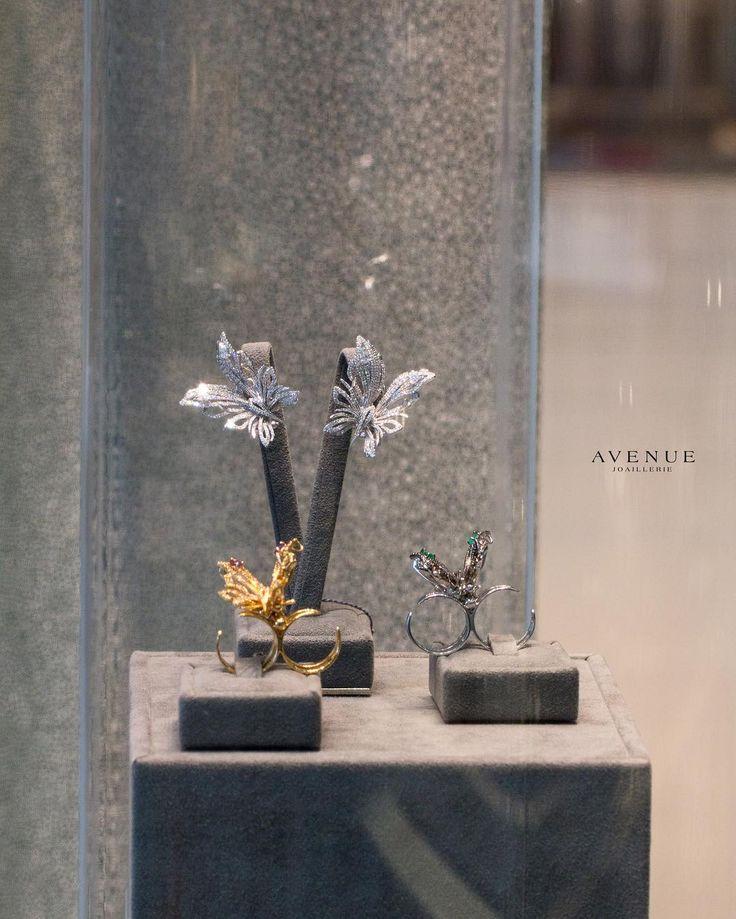 В нашем бутике Вы найдете богатый выбор ювелирных изделий в виде прелестных бабочек. Кольца броши и серьги в виде этих нежных созданий сделают свою обладательницу еще более женственной милой и очаровательной!  jewellery #earrings #ring #necklace #pendant #bracelet #gold #diamonds #beauty #women #avenuevsco #vscogood #vscobaku #vscocam #vscobaku #vscoazerbaijan #instadaily #bakupeople #bakulife #instabaku #instaaz #azeripeople #aztagram #Baku #Azerbaijan