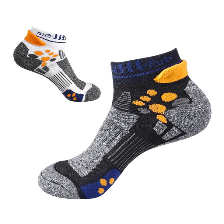 Sport Socks Men 2 Pairs/lot Free Size Hiking Socks Anti-smell Quick Dry Outdoor Cycling Socks Calcetines Ciclismo Calze Uomo