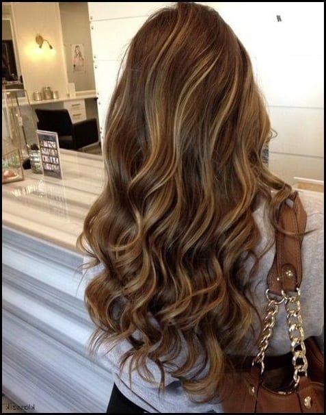 Braune Haare Blonde Strahnen Farben Helle Haarfarbe 2019