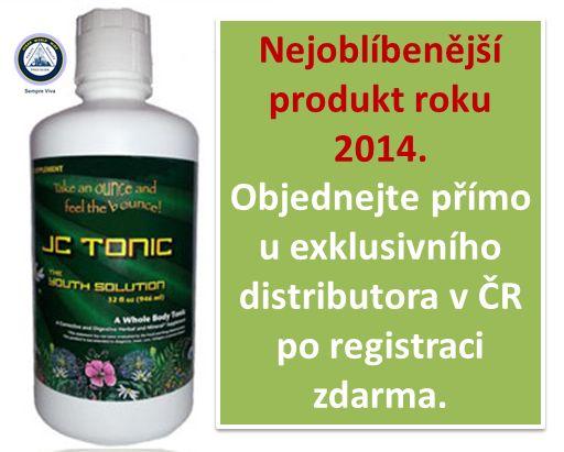 Základem JC Tonic jsou hořké byliny a minerály s vysokou účinností a synergií. Produkt, který umocní účinky jakéhokoliv potravinového doplňku, detoxikuje, a dokonce má tu schopnost odvádět z těla parazity, toxiny i těžké kovy. http://www.restartzdravi.cz/JC-Tonic-18-tonickych-bylin-d28.htm
