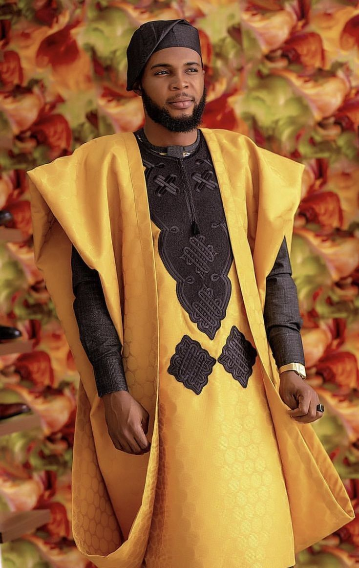 Inspiring Africa: Agbada Outfits for Men