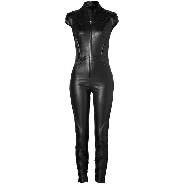 Best 25  Leather jumpsuit ideas on Pinterest   Leather bodysuit ...