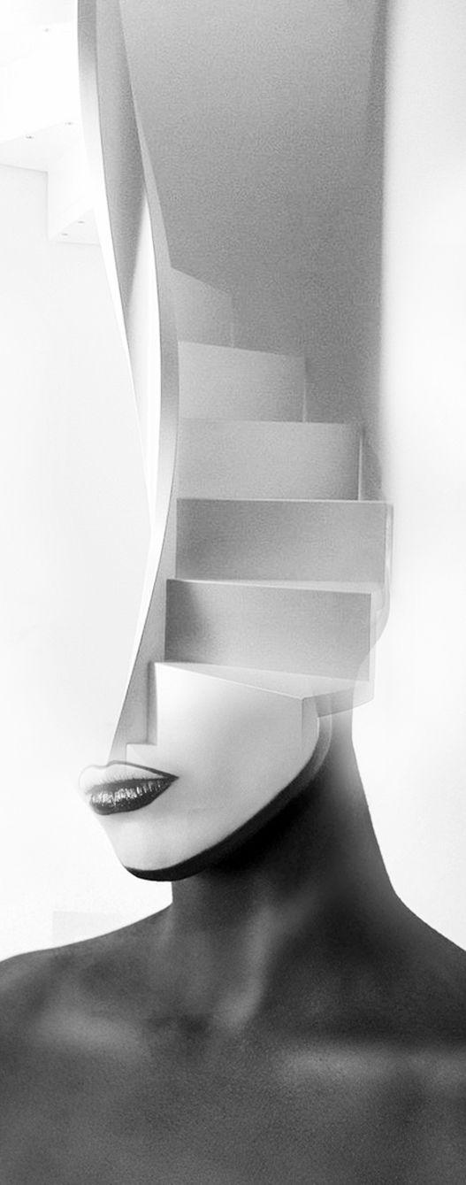 La escalera blanca - Antonio Mora