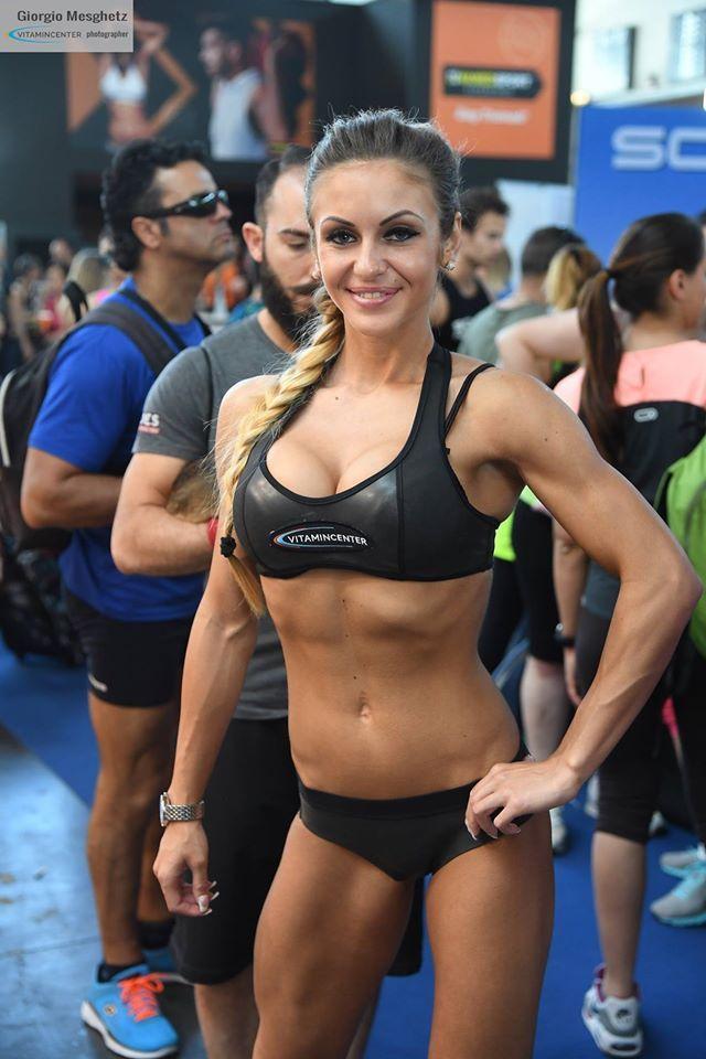 Vivien Lengyel #teamVitaminCenter #RW16 #riminiwellness #fitness #bodybuilding #italia
