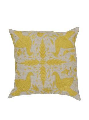 67% OFF Surya Patterned Throw Pillow (Celery)