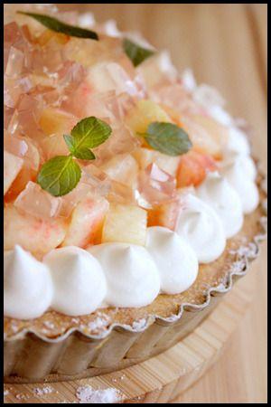 桃のレアチーズタルト by 山本リコピンさん | レシピブログ - 料理 ...