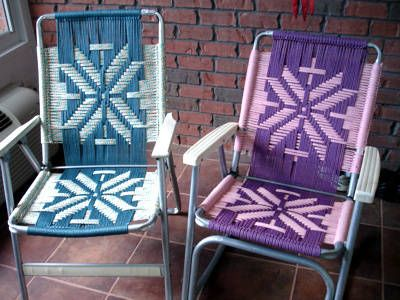 Can You Make Folding Aluminum Lawn Chairs Look Cool Maybe
