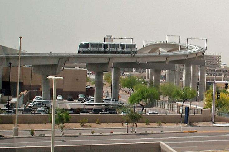 Get the 411 metro light rail connection to phoenix sky
