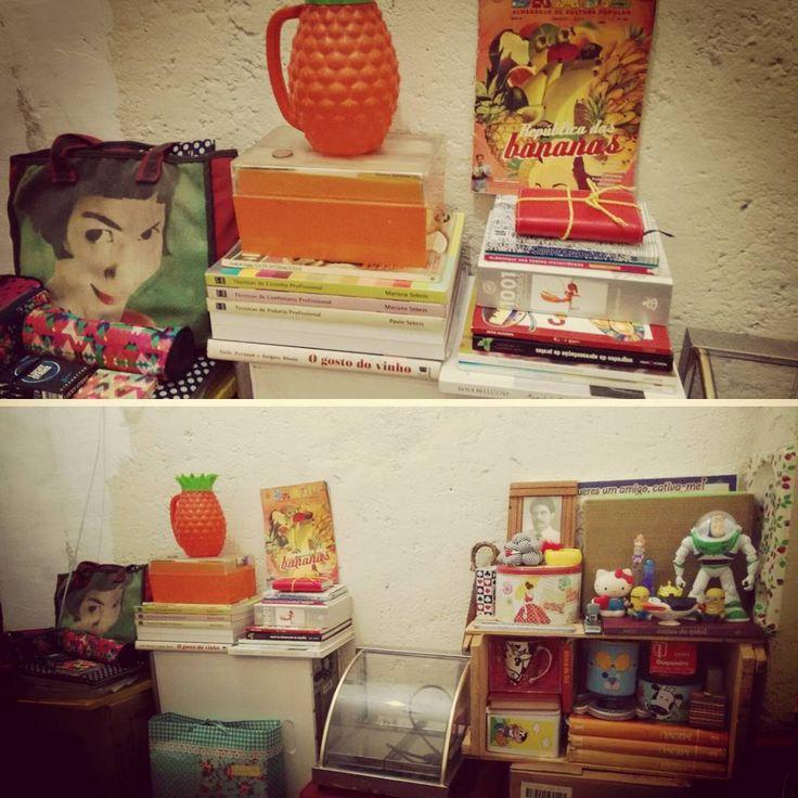 """""""eu gosto do meu quarto do meu desarrumado"""" #book #livro #cozinha #quarto #decor #hipster #ameliepoulain  #minions #hellokitty  #pixar #home #office #ateliecoletivo #atelitivocolite"""