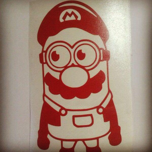 #minions                                               Mario Brosion