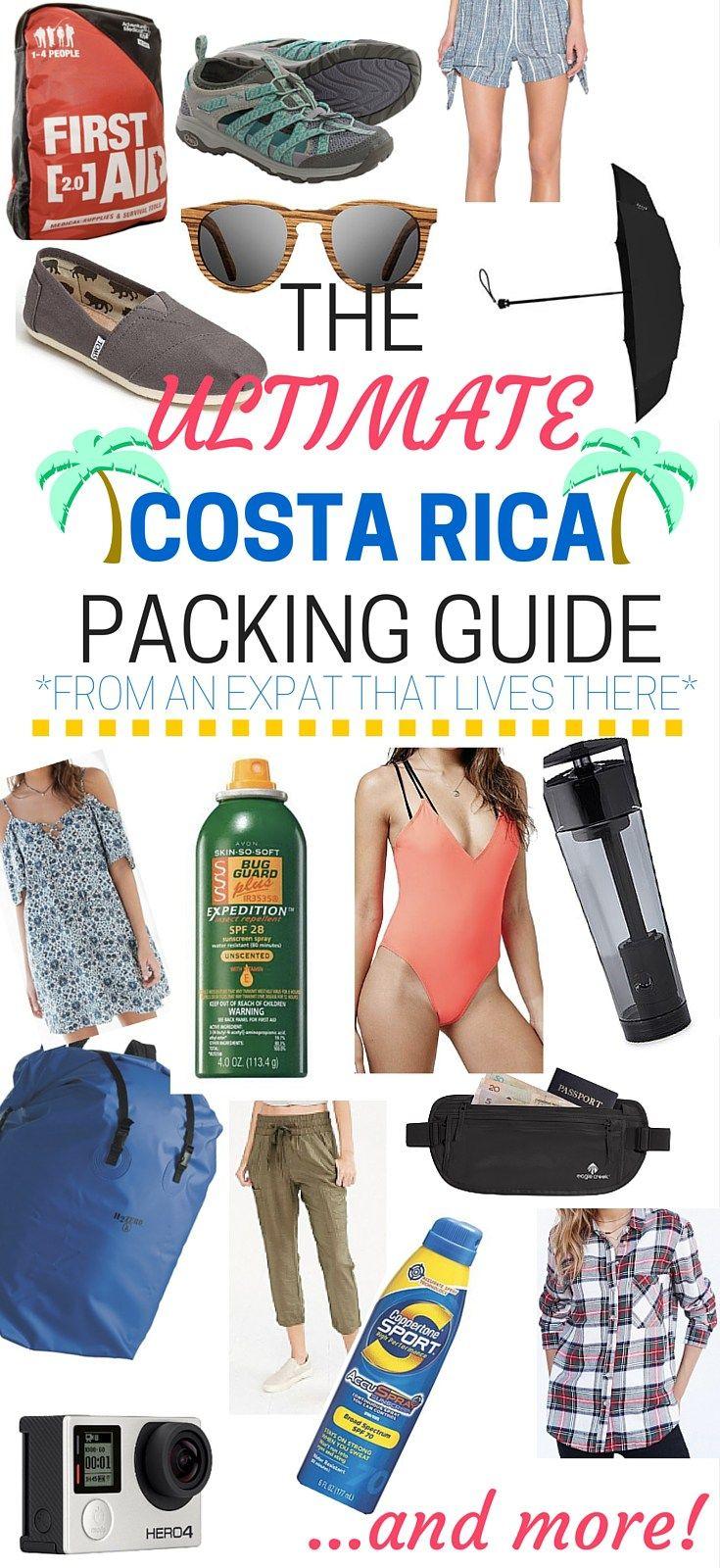 The Full 2019 Costa Rica Packing Listing For Girls