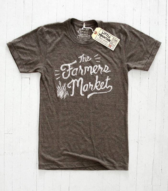 THE FARMERS MARKET by Little Mtn Print Shoppe $21 #summer #tee