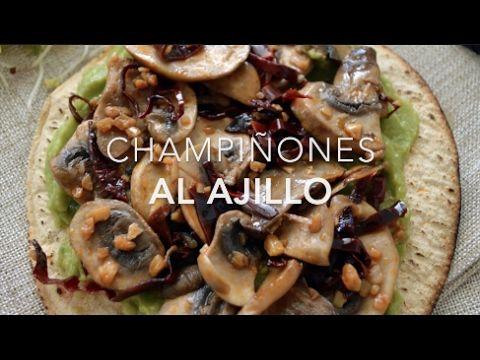 Champiñones al ajillo (champiñones con ajo & chile)