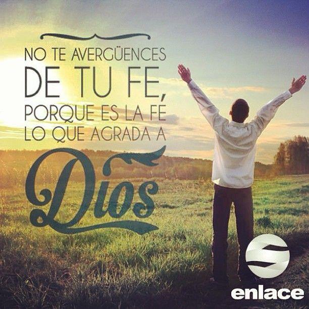 Pero sin fe es imposible agradar a Dios - Hebreos 11:6