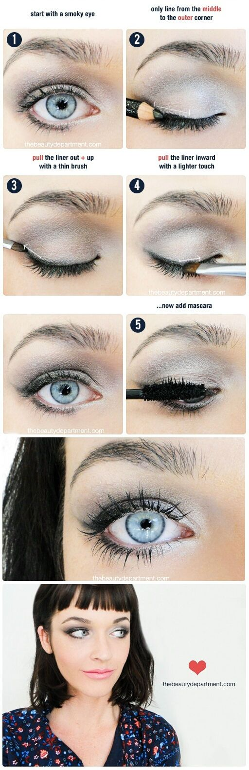 Try out this pull liner for a subtle and sultry eye look!