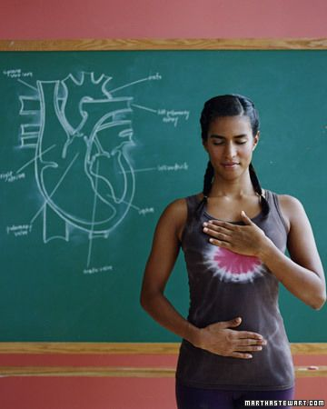 Keep Your Heart Healthy. No sweat exercises - yoga poses