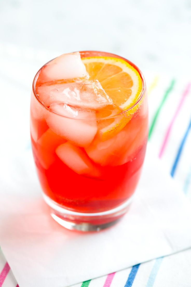 Sloe Gin Fizz Cocktail Recipe