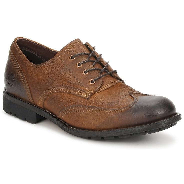 Derbie Timberland EK CITY PREMIUM OXFORD Marrón - Entrega gratuita con Spartoo.es ! - Zapatos Hombre 160,00 €