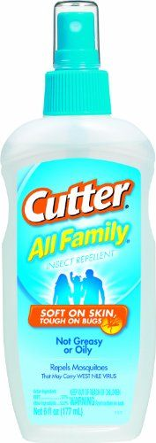 Cutter 51070 All Family 6-Ounce Insect Repellent Pump Spray, Case Pack of 1 Cutter http://www.amazon.com/dp/B000RNEQIM/ref=cm_sw_r_pi_dp_ApxUtb0QCY8DC7NT