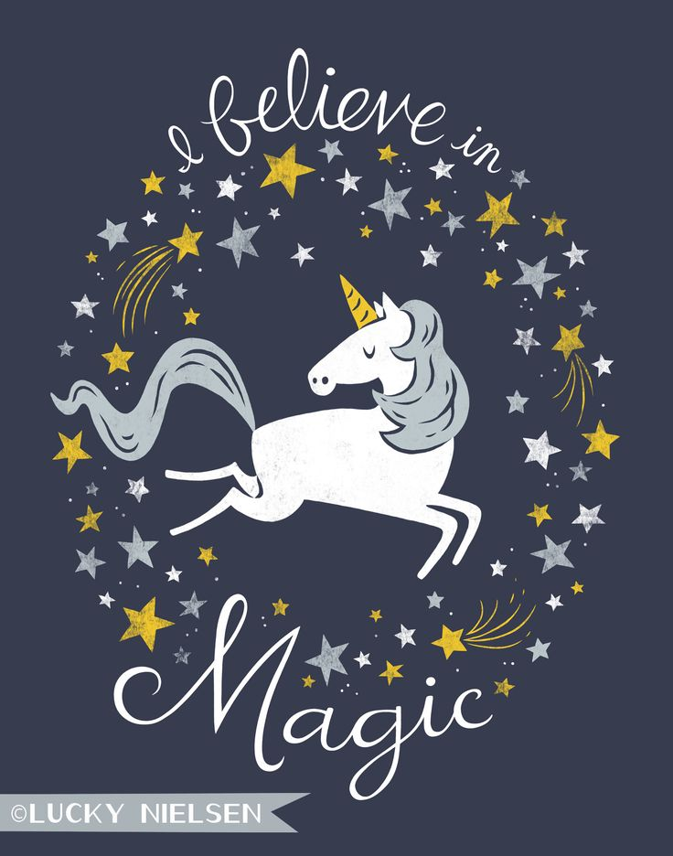 I Believe in Magic- that's why I am a unicorn at work;)