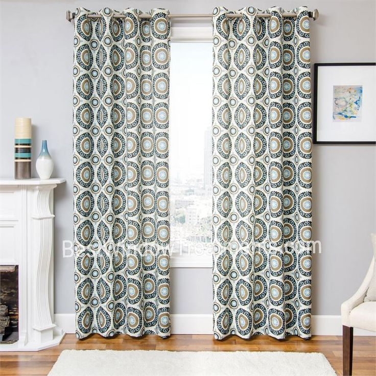Nisa Pinwheel Curtain Panel